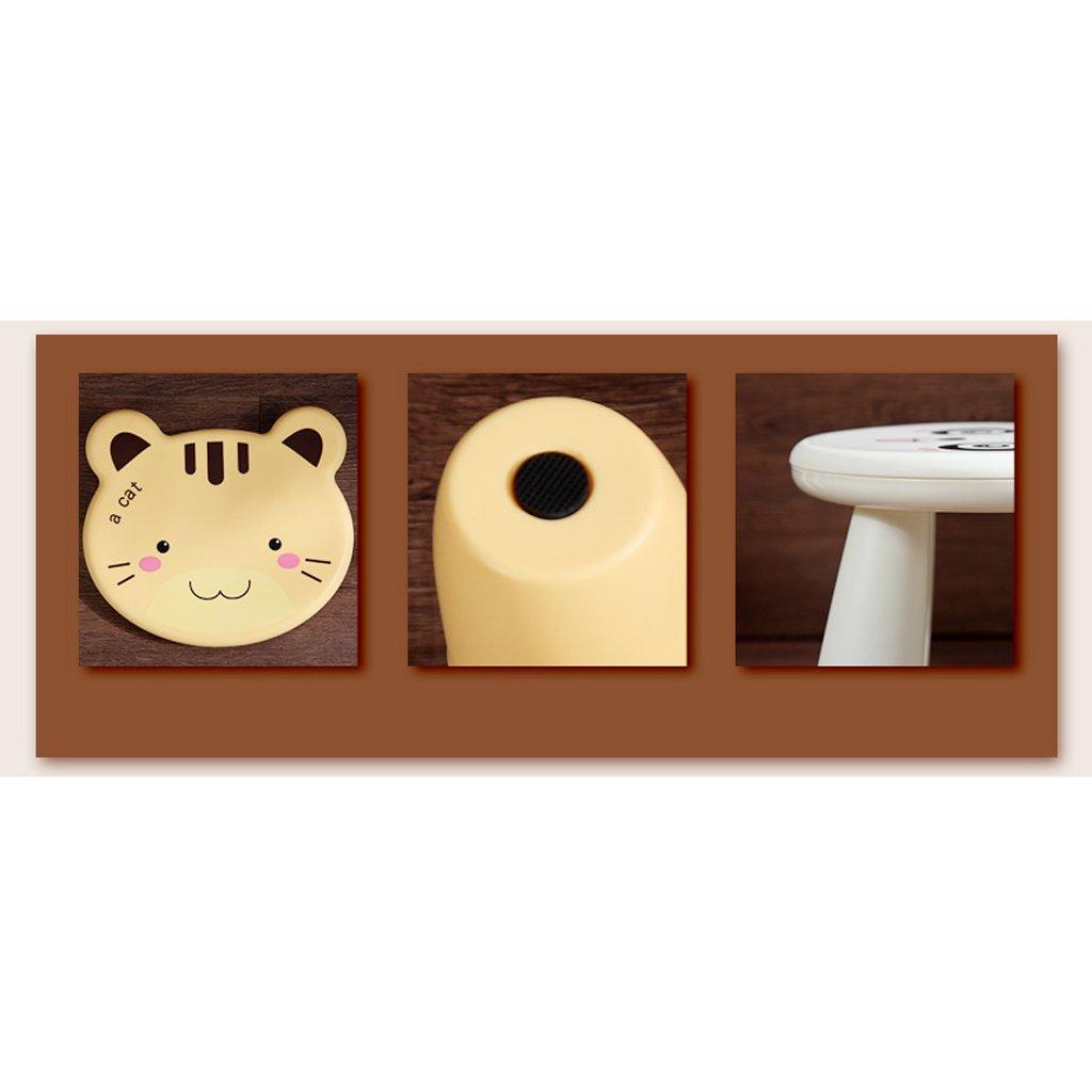 Duzhengzhou Footstool - Children's Stools Living Room Adult Plastic Cartoon Animals Cute Small Bench (Color : Frog) by Duzhengzhou (Image #3)