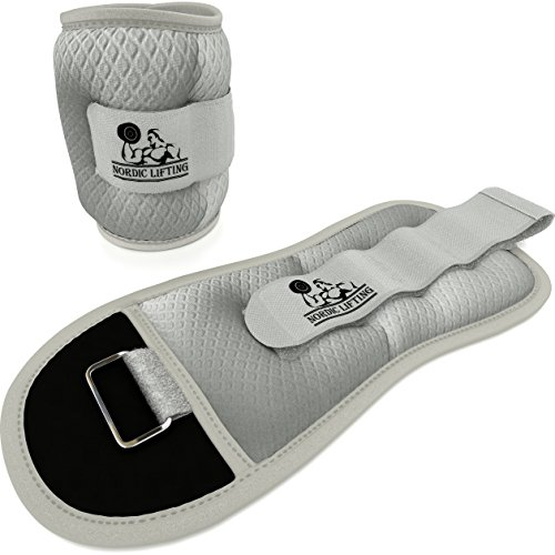 Ankle/Wrist Weights (1 Pair, Two 2 lbs)