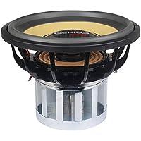 Genius N14-12D1 12 5000 Watts-Max Car Audio Professional Subwoofer Nitro Spl Dual 1-Ohms 13Pcs. Neodymium Magnet