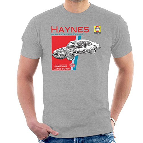 POD66 Haynes Owners Workshop Manual 0765 Saab 900 Turbo Men's T-Shirt ()
