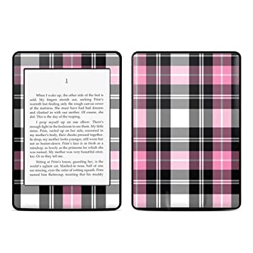 Kindle Paperwhite Skin Kit/Decal - Pink Plaid