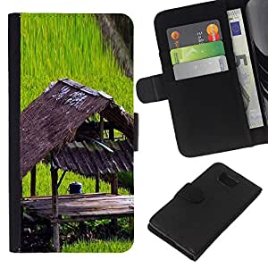 JackGot ( Pianta Natura Forrest Fiore 100 ) Samsung ALPHA G850 la tarjeta de Crédito Slots PU Funda de cuero Monedero caso cubierta de piel