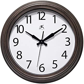 Amazon Com Mainstays Indoor Outdoor Wall Clock Antique