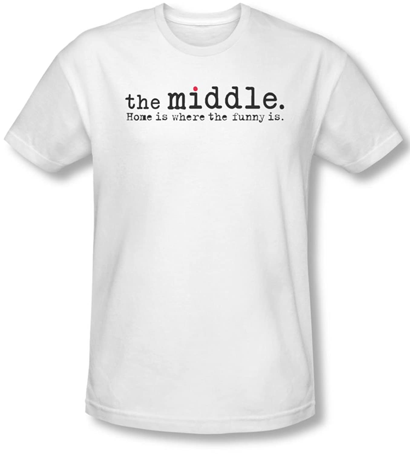 The Middle - Mens Logo T-Shirt In White