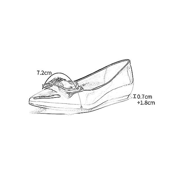 YQQ Zapatos Femeninos Zapatos De Mujer Zapatos De Boda Zapatos De Novia Sandalias De Verano Tacones Bajos Zapatos Planos Retro Salvaje Mariposa Nudo ...