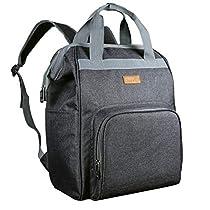 Hap Tim Diaper Bag Backpack£¬Smart Organizer Large Capacity Multi-function/Stylish for Women and Men