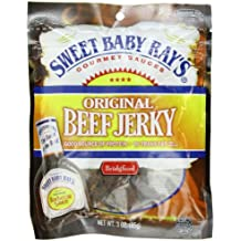 Bridgford Beef Jerky, Sweet Baby Ray's Original, 3 Ounce Pouch