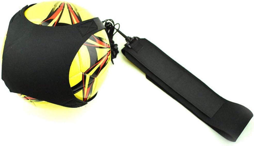 SUJING Football Kick Trainer Skills Solo Soccer Training Aid Equipment Waist Belt