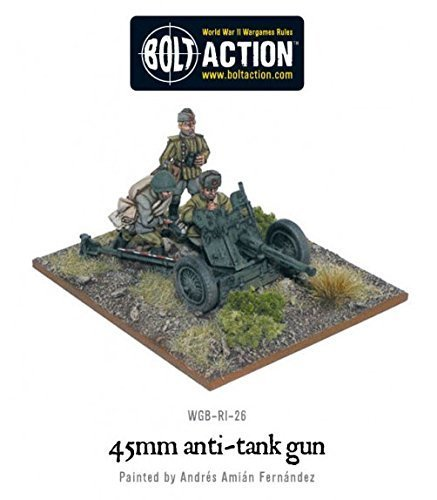 Bolt Action: Soviet 45mm Anti Tank Gun