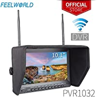 Feelworld PVR1032 10.1 Inch 1024x600 IPS FPV Monitor with DVR Function