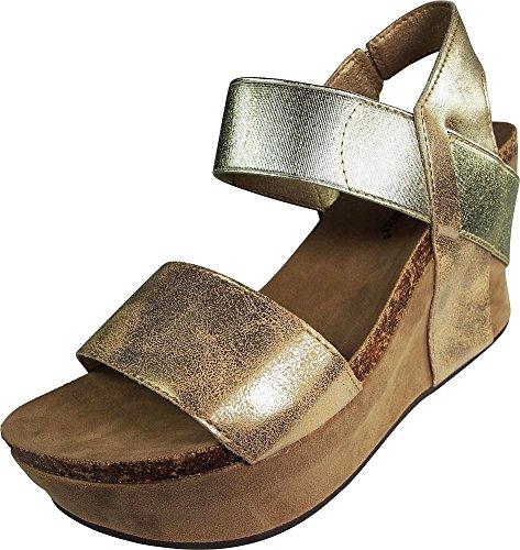 46bb31f9501 Jual Pierre Dumas Women s Hester-1 Wedge Sandals - Platforms ...