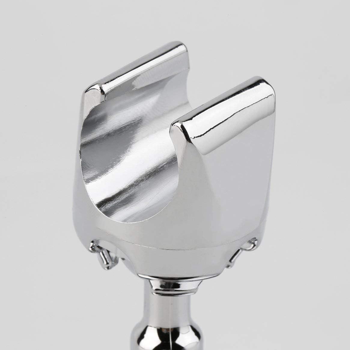Support de pommeau de douche mural pour salle de bains Accueil Support pour ventouse Support de pommeau de douche utile pour salle de bains Argent