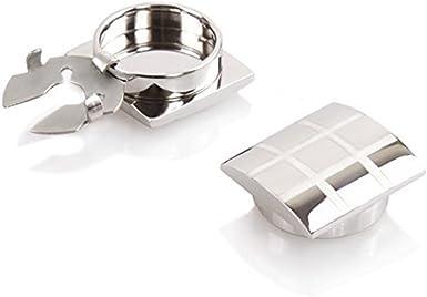 ButtonCuff Cubre Botones Plateado – La Alternativa a Los Gemelos Para Camisas Ordinarias: Amazon.es: Ropa y accesorios