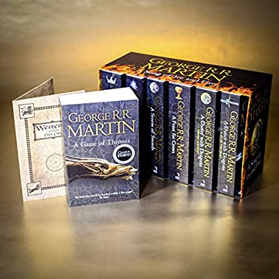 A Game of Thrones: The Story Continues: The complete boxset of all 7 books A Song of Ice and Fire: Amazon.es: Martin, George R.R.: Libros en idiomas extranjeros