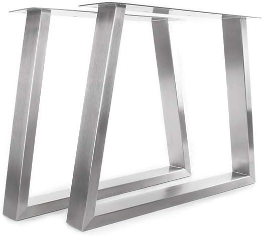 KTC Tec Mesa Estructura Acero Inoxidable tu 100 x 40 Trapezoidal ...