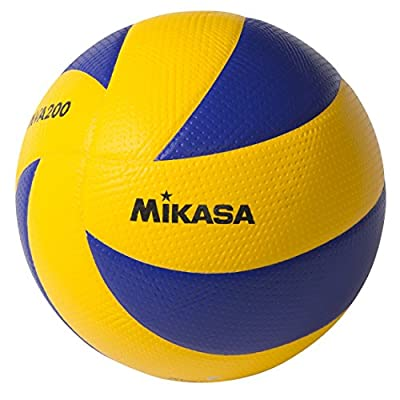 Mikasa MVA200 2008(Beijing), 2012(London), and 2016(Rio) indoor Olympic Games Ball (Blue/Yellow) from Mikasa