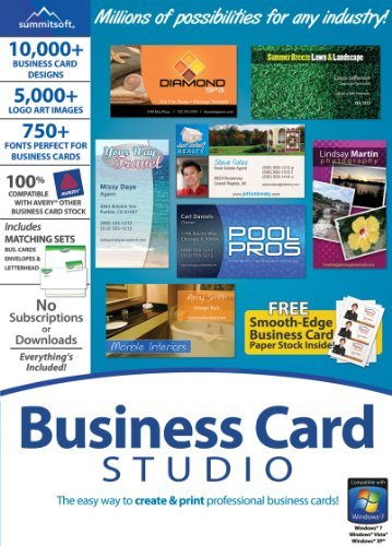 Business Card Studio [Download] by Summitsoft