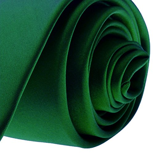 Buy green skinny ties for men