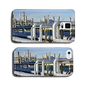 Pipes in a modern industrial plant cell phone cover case Samsung S6