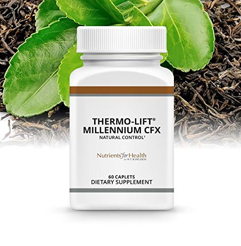 Carb Blocker - Weight Loss Pills - Appetite Suppressant - Diet Support - Fat Blocker - Thermo-Lift Millennium CFX : 60 Caplets – Nutrients for Health by WT Rawleigh by W.T. Rawleigh (Image #1)
