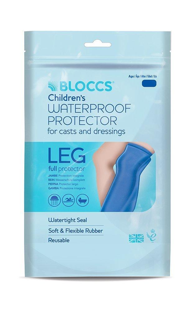 Bloccs Child Full Leg Waterproof Cast Cover