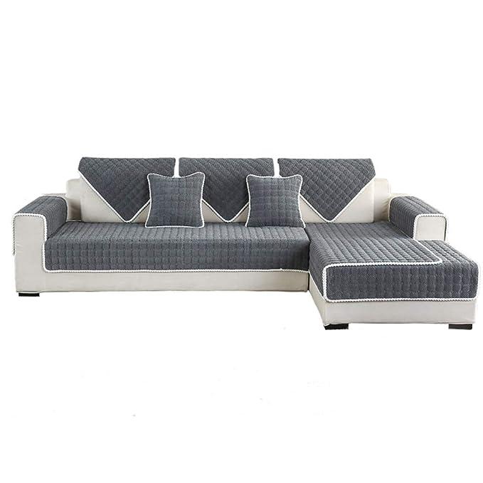 HYWL Fundas de sofá Originales Espesar Color sólido ...
