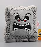 Super Mario Bros Thwomp Dossun Character Cushion Pillow 6 Inch Toddler Stuffed Plush Kids Toys