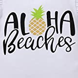 Aloha Beaches Pineapple Outfit Baby Girl Ruffle