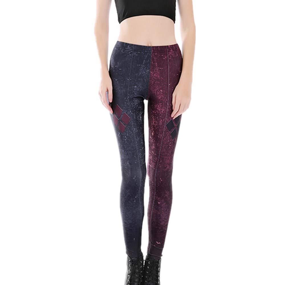Boutique sale 2019 Nueva impresión Pantalones de Yoga ...
