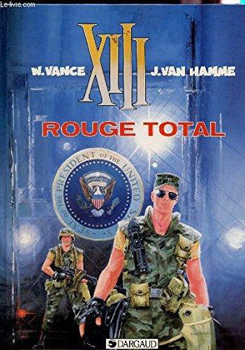 XIII Rouge Total édition originale