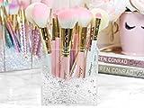 Organizta Makeup Brush Holder with Diamond Beads (Cube)