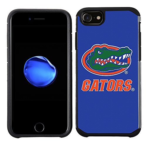 (Prime Brands Group Textured Team Color Cell Phone Case for Apple iPhone 8/7/6S/6 - NCAA Licensed University of Florida Gators)
