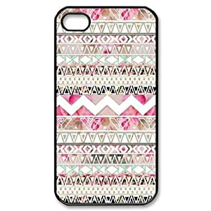 Aztec Tribal Pattern New Fashion DIY Phone Case for Iphone 4,4S,customized cover case ygtg537435