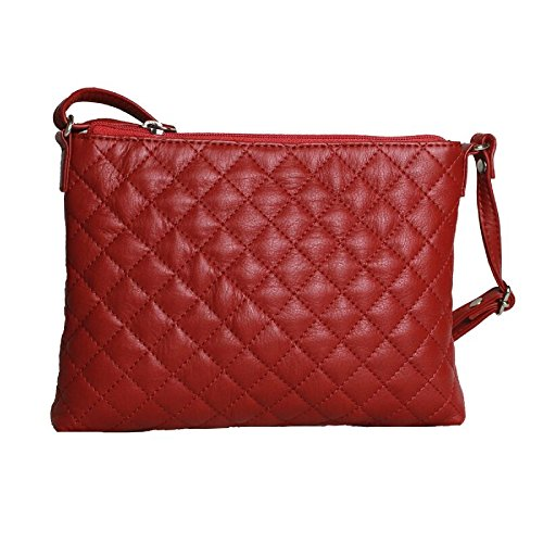 Eastern Bolso modelo para Fucsia Leather Rose mujer acolchado Counties r4qnEpRwr