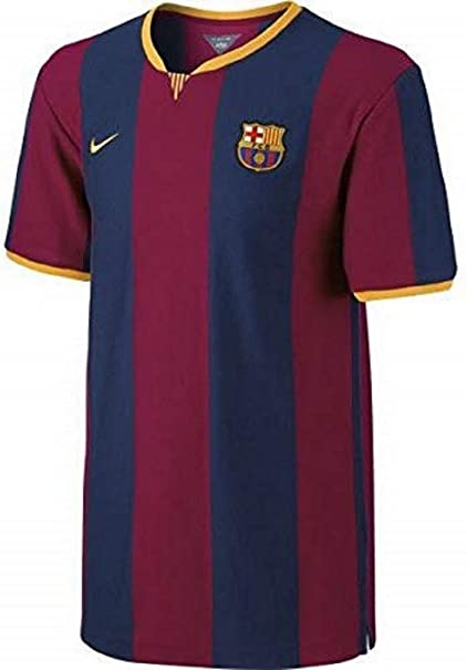 Nike 2014-2015 Barcelona Home Ladies Football Soccer T-Shirt Trikot