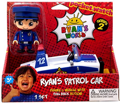 (Ryan's World Police Car – Blue and White)