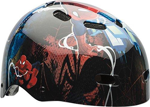 (Bell Children Spider Man Tracer Multi-Sport Helmet)