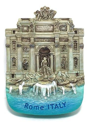 - Trevi Fountain Rome Italy Souvenir Collection 3D Fridge Refrigerator Magnet Hand Made Resin
