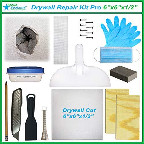 Stella Drywall Repair Kit Pro (6