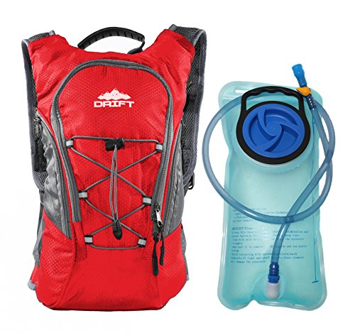 Hydration Pack Backpack with 2 Liter Water Bladder Fits Men & Women & Children for Running Marathon Racing Hiking Backpacking Hunting Camping Cycling Walking Climbing Kayaking Outdoor Survival