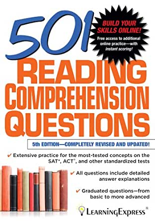 Amazon 501 reading comprehension questions 501 series ebook 501 reading comprehension questions 501 series 5th edition kindle edition fandeluxe Image collections
