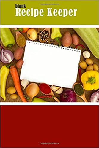 Download bog pdfs Blank Recipe Keeper: Organize All Your Recipes With This Cute Blank Cookbook (Blank Recipe Books) by Blank Books 'N' Journals PDF ePub