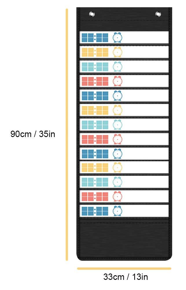 Amazon.com: Tabla de bolsillo diaria para el horario de ...