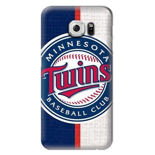S6 Case, MLB - Minnesota Twins Split - Samsung Galaxy S6 Case - High Quality PC Case