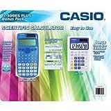 Casio Scientific Calculator FX-300ES Plus with Bonus Calculator, Blue