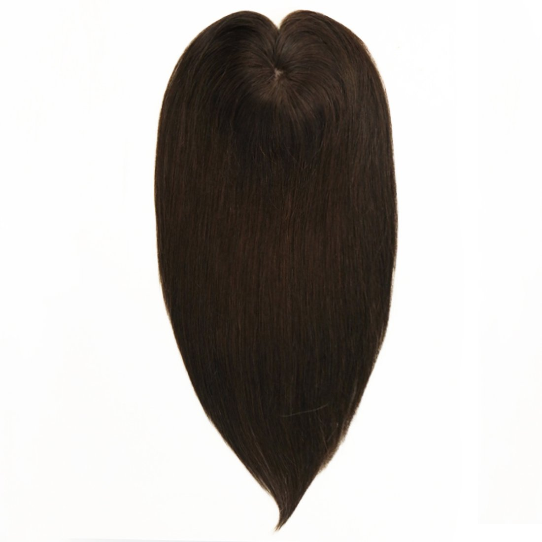Uniwigs 5.5''×5.5'' Claire Silk Top Virgin Remy Human Hair Topper, Straight Hair For Hair Loss or Thin Hair (12'', G-2)