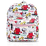 FINEX Snoopy All Over Print Small Nylon Bag Multipurpose Causal Daypack for Travel Trip Shopping Tablet iPad Mini up to 8 inches