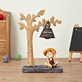 YOURNELO Cute Animals Cartoon Character Marvel Heroes Desk Ornaments Night Light Lamp for Gift (Monkey D Luffy 5)