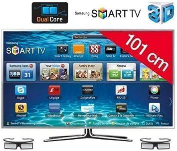 SAMSUNG Televisor LED Smart TV 3D UE40ES6900: Amazon.es: Electrónica