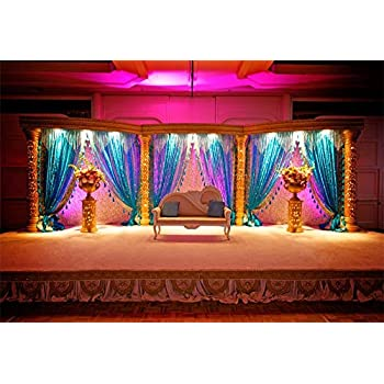 Amazon Com Aofoto 9x6ft India Culture Ritual Wedding Stage